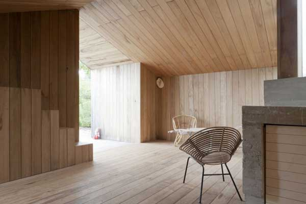 Modern Garden Shed in the Netherlands Poplar Garden House