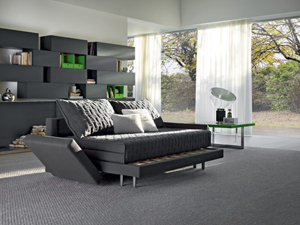 Practical Oz Sofa Doubles as Bed Oz Sofa Bed Combo Furniture Sports Two in One Design