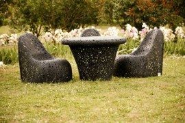 Unique Hand-Crafted Basalt Fiber Furniture by Raimonds Cirulis