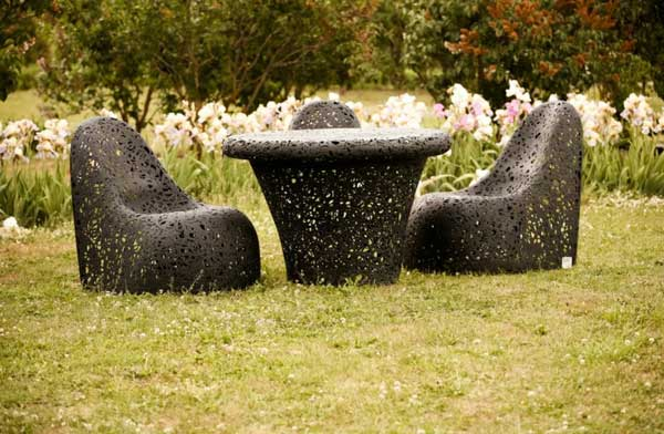 Raimonds Cirulis Unique Hand Crafted Basalt Fiber Furniture by Raimonds Cirulis