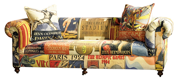 Redgrave Sofa Olympic Furniture Vintage Olympic inspired Living Room Furniture from Barker & Stonehouse