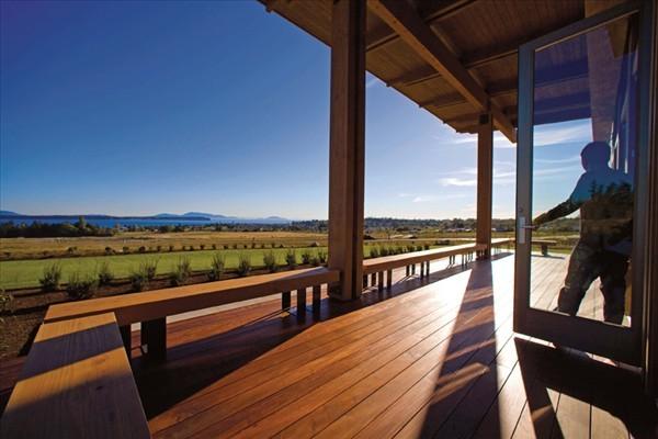 Semiahmoo Horizon Houses wooden decks