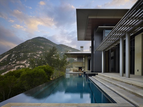 Shek-O Residence Hong Kong mountain villa with pool