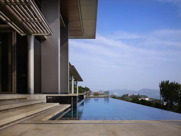 Shek-O Residence Hong Kong pool views