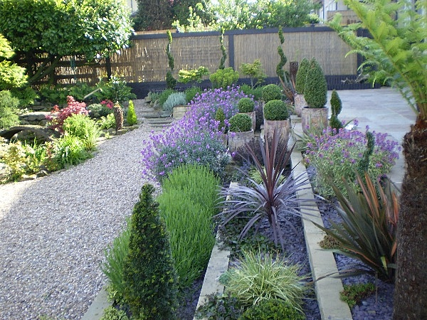 Garden space ideas modern home exteriors for Garden space ideas