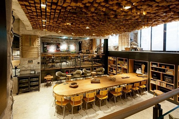 Starbucks concept store in Amsterdam instead of bank vault 1 Starbucks Coffee Lab for a Warm Treat in Amsterdam Center