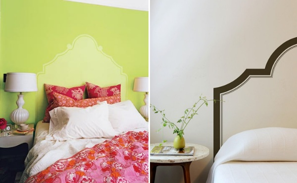Painted Headboards 25 gorgeous diy headboard projects