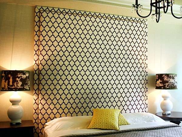 25 gorgeous diy headboard projects. Black Bedroom Furniture Sets. Home Design Ideas