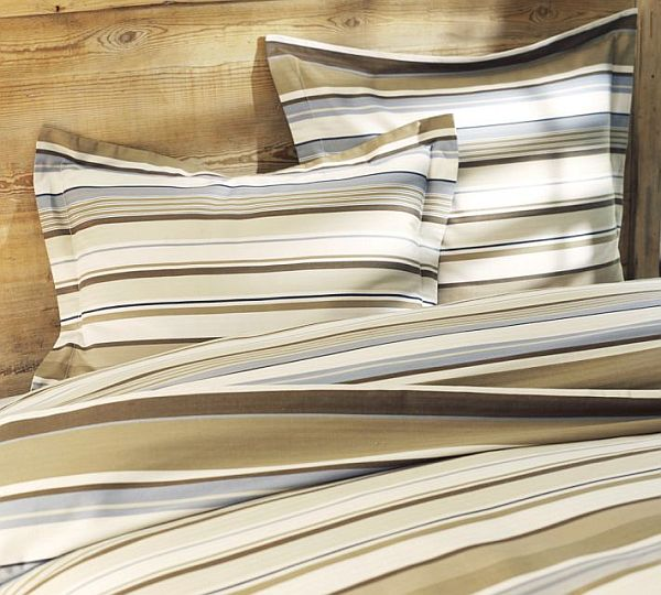 Thomson Stripe Duvet Cover & Sham 1