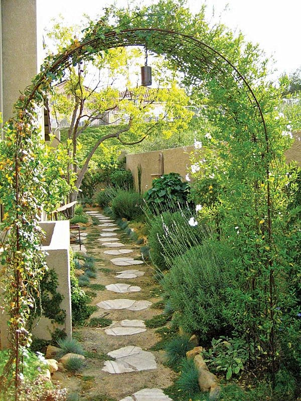 Eye Catching Trellises 30 Unique Garden Design Ideas