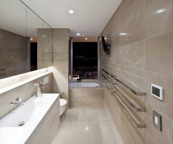 Twin Modern Homes sleek stylish bathroom