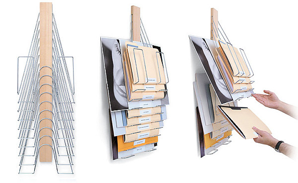 Up Filer Wall-mounted Filing System