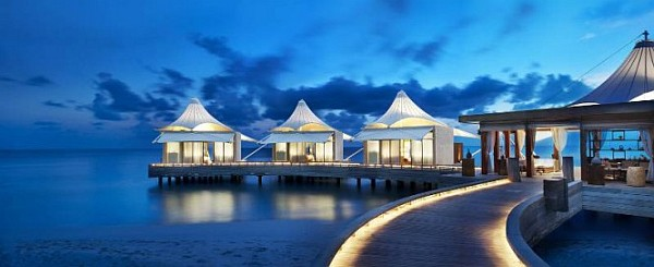 W Retreat and Spa in Maldives luxury baldaquins