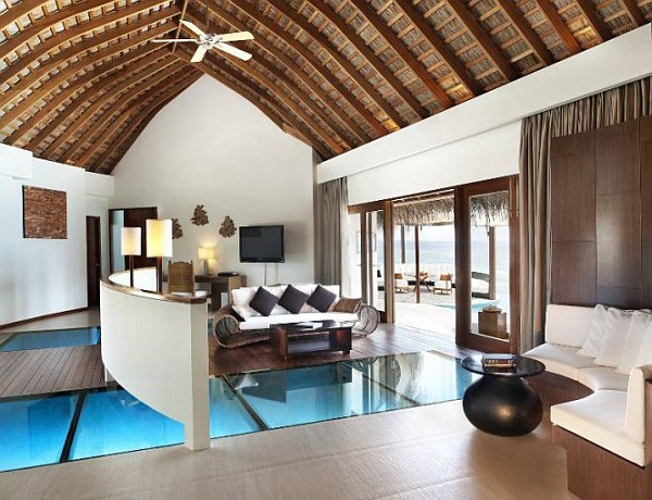 W Retreat and Spa in Maldives luxury bedroom