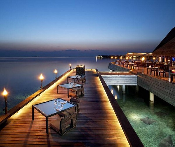 W Retreat and Spa in Maldives posh dining experience