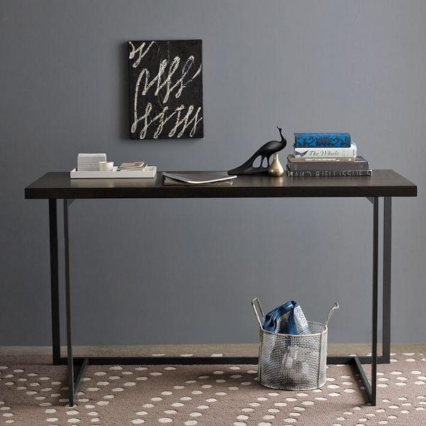 West Elm Flat-Bar Desk