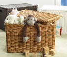 Wicker baskets storage