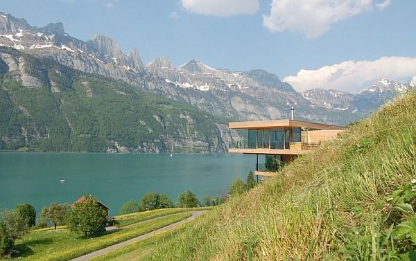 Wohnhaus Am Walensee Swiss Lake House
