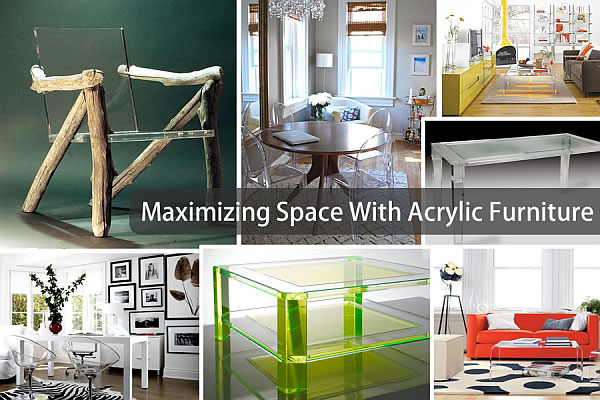 acrylic furniture to maximize space Maximize Your Space With Acrylic Furniture