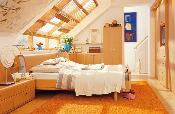 attic bedroom interior design