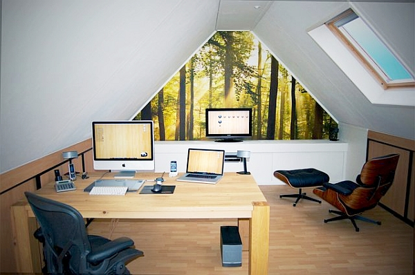 Http Www Decoist Com 2012 03 05 20 Home Office Decorating Ideas For A Cozy Workplace