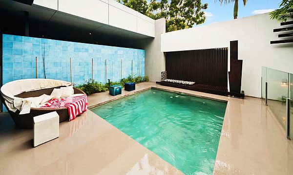 beach house with private pool & patio