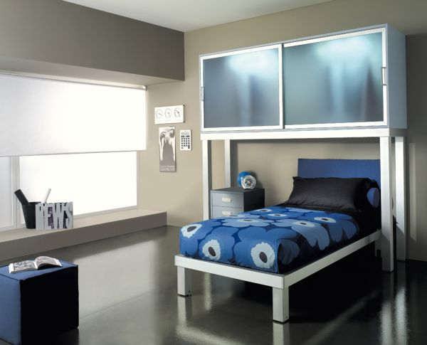 blue and grey room decorating ideas for kids