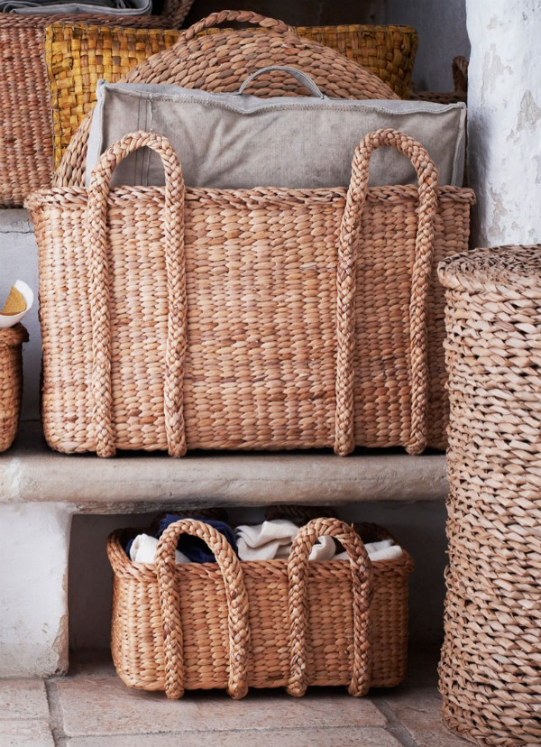 chich Wicker baskets
