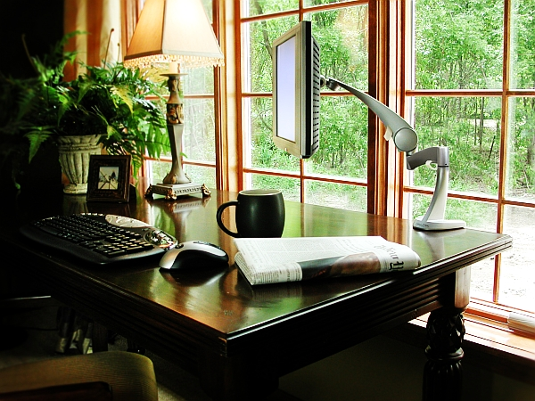 20 home office decorating ideas for a cozy workplace Classic home office design ideas