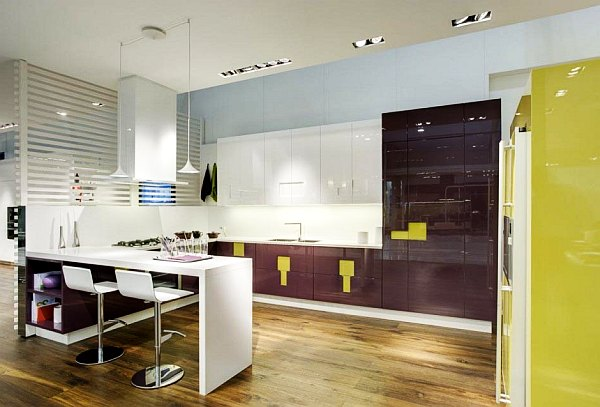 contemporary kitchen lighting ideas. view in gallery contemporary kitchen lighting ideas