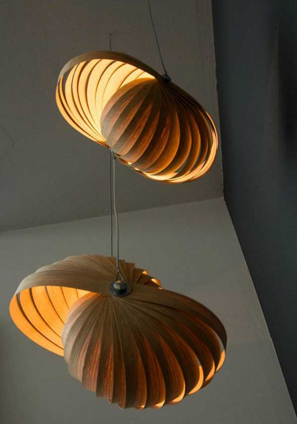 Contemporary Light Shade Artistic Lighting Shades From