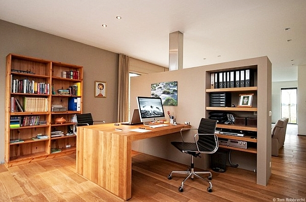 Contemporary Wooden Home Office