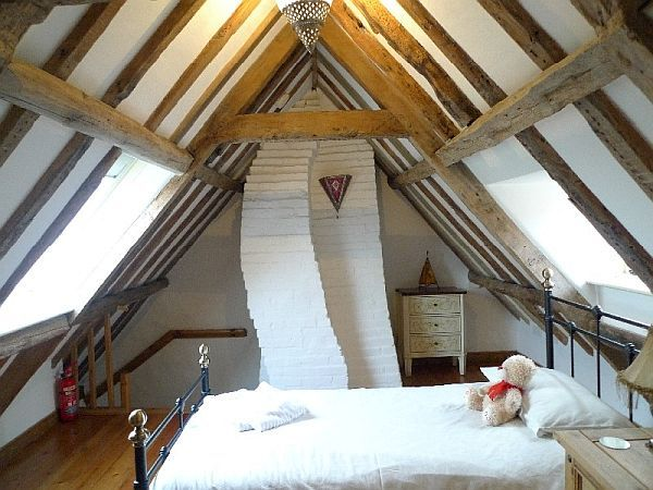 cottage attic bedroom design