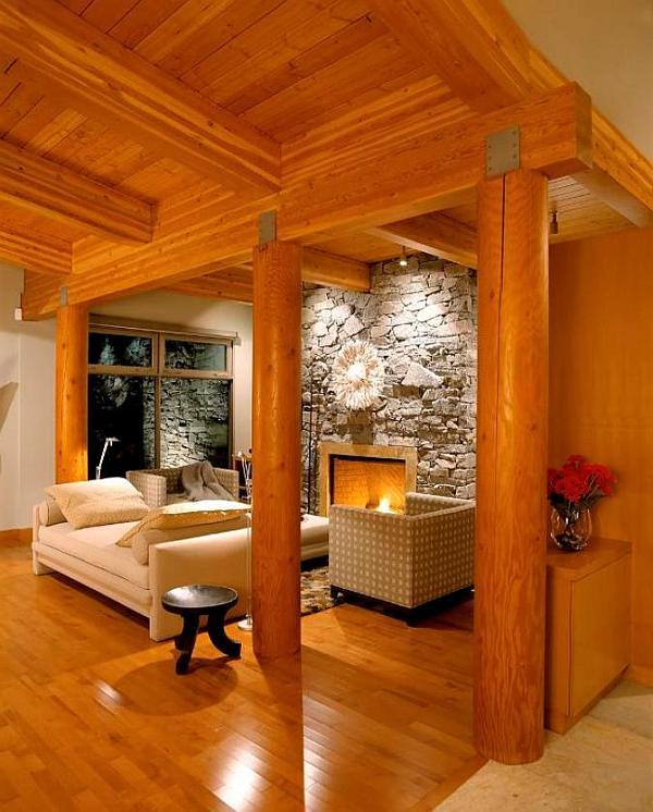 19 Log Cabin Home Décor Ideas: Stylish Cottage Living: 14 Decorating Ideas