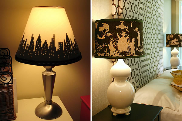 custom lampshade design