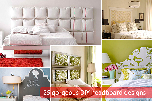 diy headboards design ideas 25 Gorgeous DIY Headboard Projects