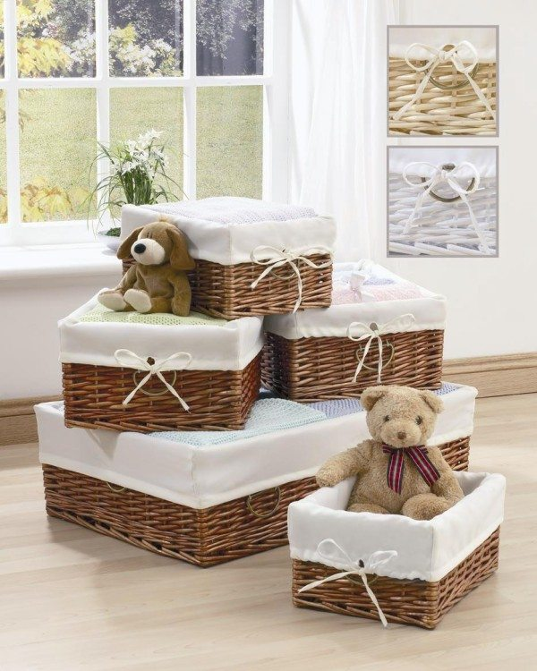 fancy Wicker baskets 600x750 Wicker Baskets: Chic Storage Solutions For Home