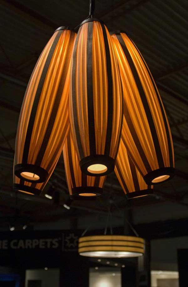 fancy wooden lighting accessories