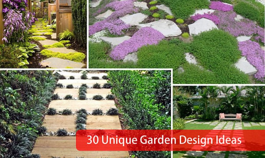 30 Unique Garden To Design