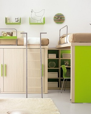 green shared bedroom ideas styles