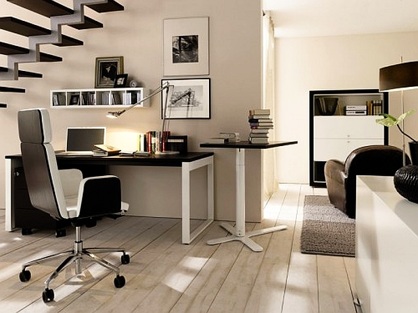 20 home office decorating ideas for a cozy workplace for Decoration bureau