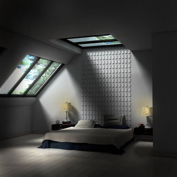 Back to modern cool fancy functional 32 attic bedroom for Attic bedroom ideas