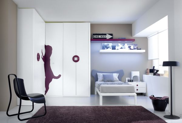 minimalist rooms decorations for kids teenagers