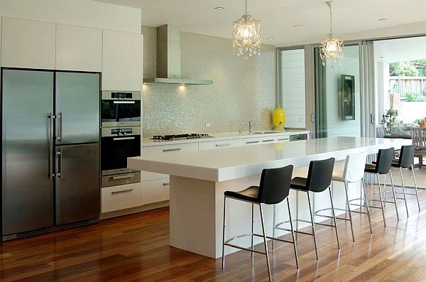 Kitchen lighting ideas for Suspension eclairage cuisine