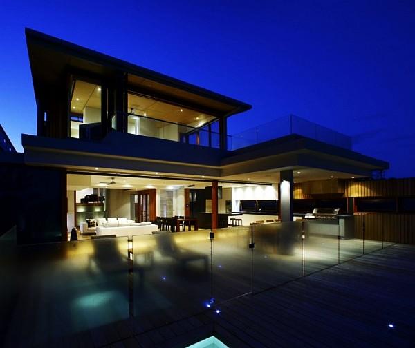 modern queensland beach house