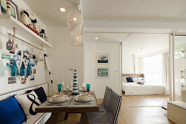 Camera Da Letto Stile Marina : Decorating with a nautical theme