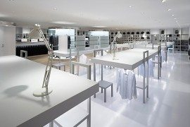 Halsuit Concept Shop in Japan by Nendo