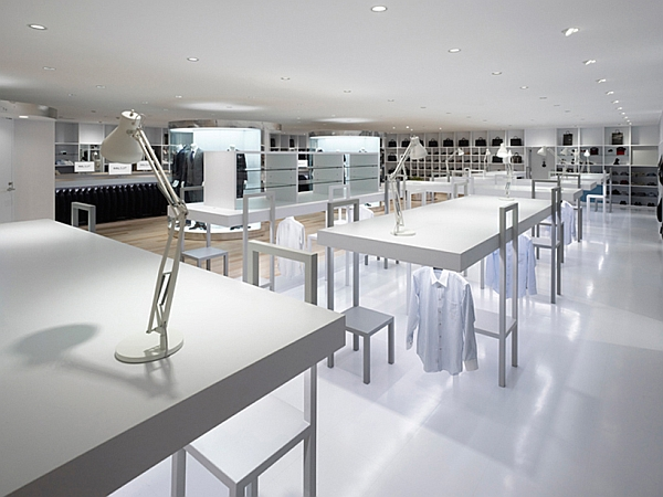 nendo halsuit concept shop 1 Halsuit Concept Shop in Japan by Nendo