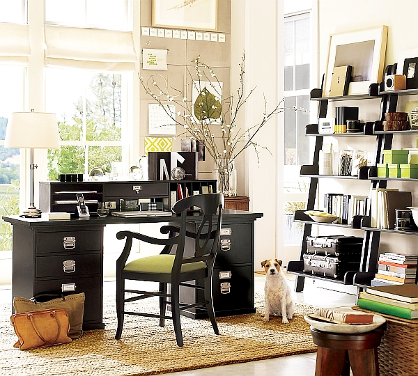 Home Office Design Tips To Stay Healthy: 20 Home Office Decorating Ideas For A Cozy Workplace