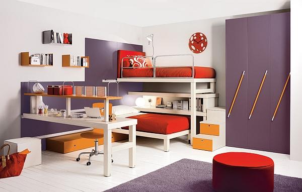 playful shared bedroom ideas